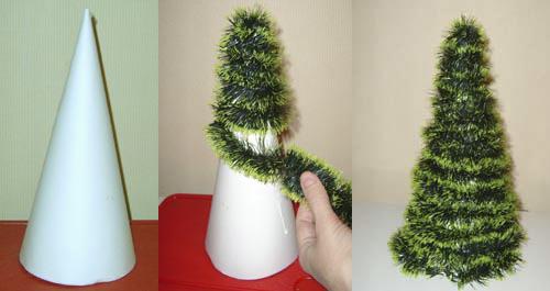 Как сделать новогоднюю игрушку на ёлку своими руками фото