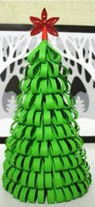 Новогодняя елка из картона своими руками фото 449