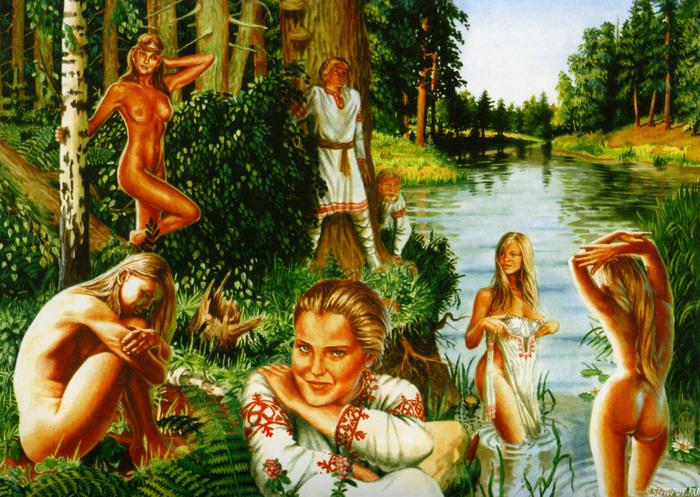 картинки девушек голых русских