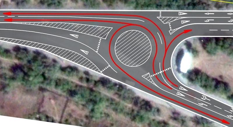Новая схема дорожного движения вводится навъезде вВолжский
